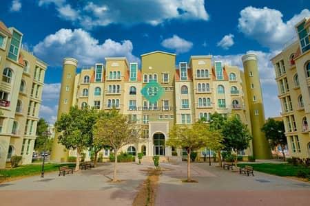 فلیٹ 1 غرفة نوم للايجار في ديسكفري جاردنز، دبي - fully furnished 1bedroom with balcony  street 9 next to carrefour