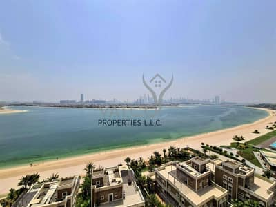شقة 4 غرف نوم للبيع في نخلة جميرا، دبي - Vacant   Never Lived In   Stunning Sea View