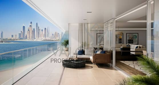 3 Bedroom Apartment for Sale in Palm Jumeirah, Dubai - Exquisitely Fitted 3BED Mansion   Sea View