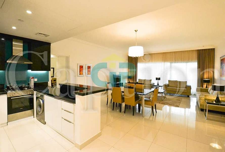 10 Fully Furnished | Spacious apartment | Amazing location  | Great investment