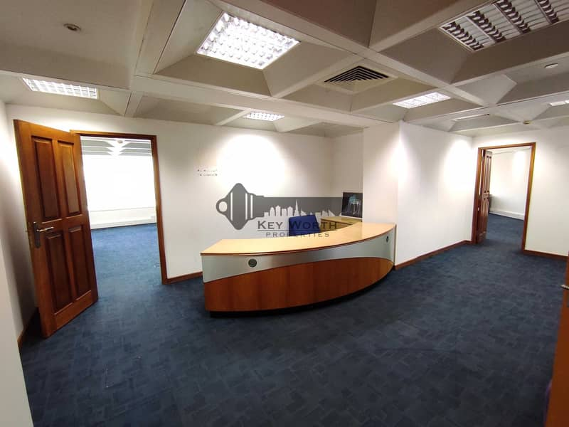 Crazy Deal 2 month free  Best priced office at Heart of Dubai