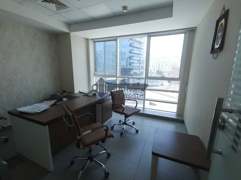 11 Super luxurious standard and high class fitted Office ready to move in  opp deira city center