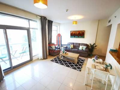 1 Bedroom Flat for Rent in Dubai Marina, Dubai - FULLY FURNISHED 1 BEDROOM APT WITH MARINA VIEWS
