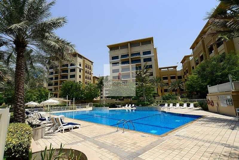 2 PRICE REDUCED |GREENS|2BR +STUDY| POOL VIEW |