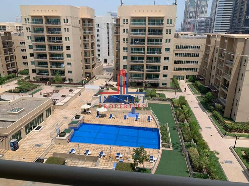 5 UPGRADED 2BR + STUDY | VACANT | POOL VIEW