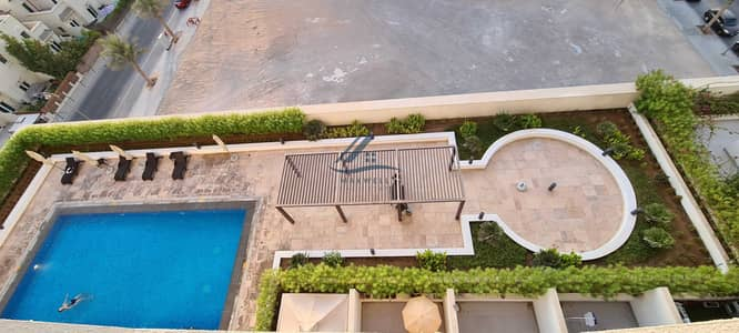 Studio for Rent in Al Furjan, Dubai - Pool View   Near to Metro   Fully Furnished   Multiple Cheques