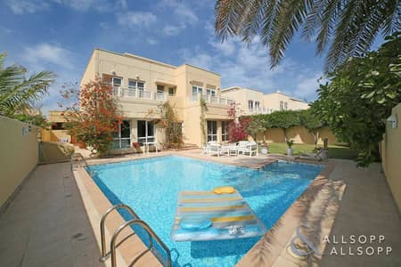 5 Bedroom Villa for Sale in The Meadows, Dubai - Upgraded | Type 7 | Private Pool | 5 Beds