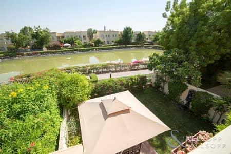 فیلا 3 غرف نوم للبيع في الينابيع، دبي - Lake View   Extended Type 3M   3 Bedroom