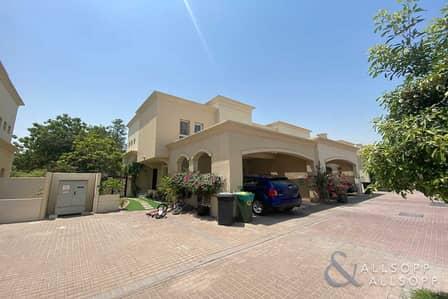 فیلا 3 غرف نوم للبيع في الينابيع، دبي - 3 Bed + Study | Walk To The Pool and Souk