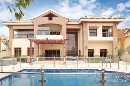 فیلا 5 غرف نوم للبيع في جزر جميرا، دبي - 5 Bed Mansions | Large Plot | Private Pool