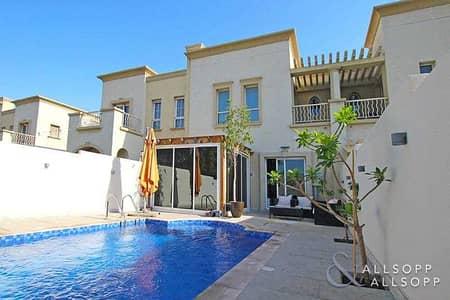فیلا 2 غرفة نوم للبيع في الينابيع، دبي - Exclusive | Pool | Extended | 2 Bedrooms