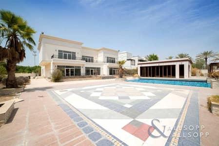 فیلا 6 غرف نوم للبيع في تلال الإمارات، دبي - Golf Course Views   Private Pool   Big Plot