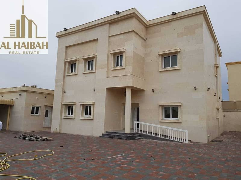 For sale two-storey villa for personal finishing in Sharjah Al Yash