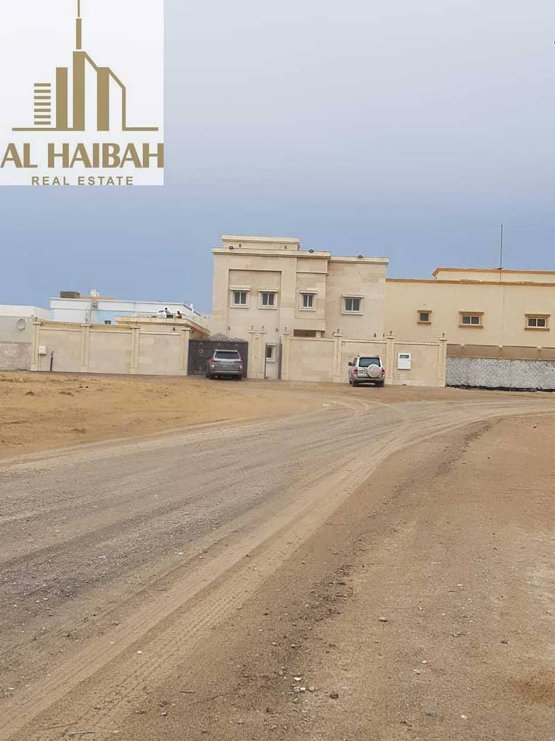2 For sale two-storey villa for personal finishing in Sharjah Al Yash
