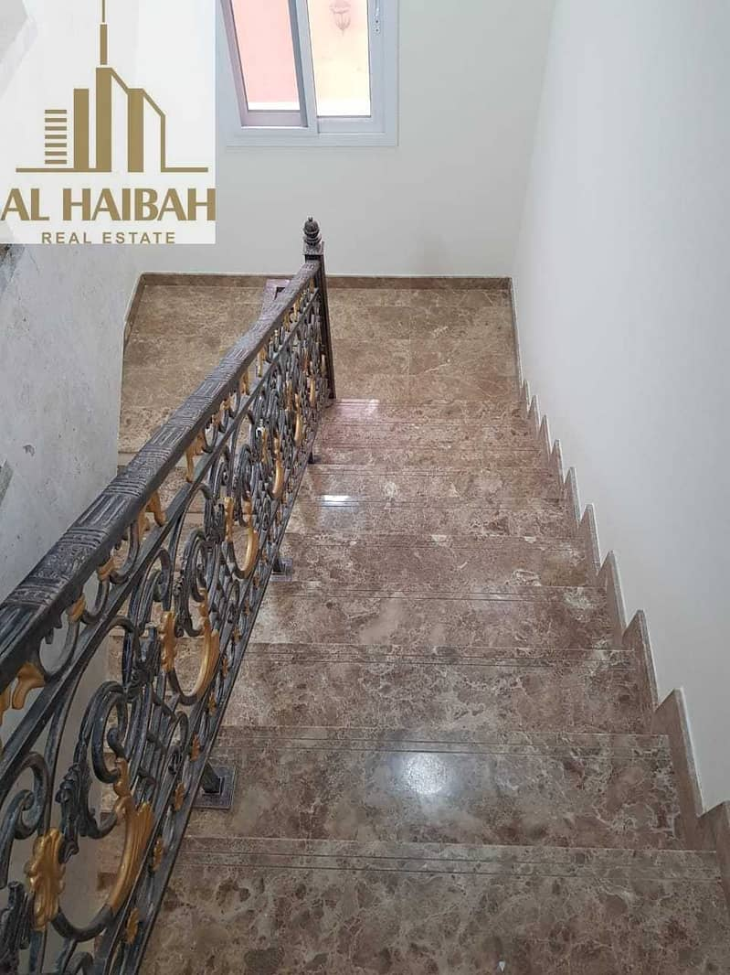 16 For sale two-storey villa for personal finishing in Sharjah Al Yash