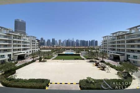 فلیٹ 3 غرف نوم للايجار في تلال الجميرا، دبي - Three Bedrooms | Duplex | Skyline View