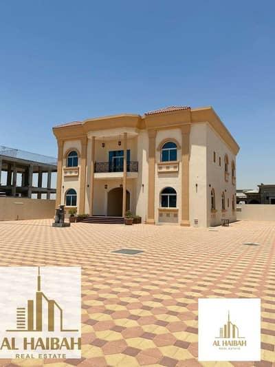 6 Bedroom Villa for Rent in Al Rahmaniya, Sharjah - For rent a new two-storey villa in Rahmaniyah 7 great location