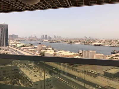 2 Bedroom Flat for Sale in Ajman Downtown, Ajman - Tow bedrooms at Al Khor open view for sale in pearl tower