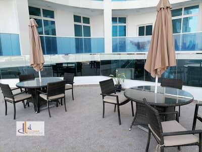 استوديو  للبيع في الراشدية، عجمان - تملك استديو في برج جديد (حمام سباحة-جيم-مكيف مجاني-باركنج داخلي-اطلالة مائية-تملك حر)