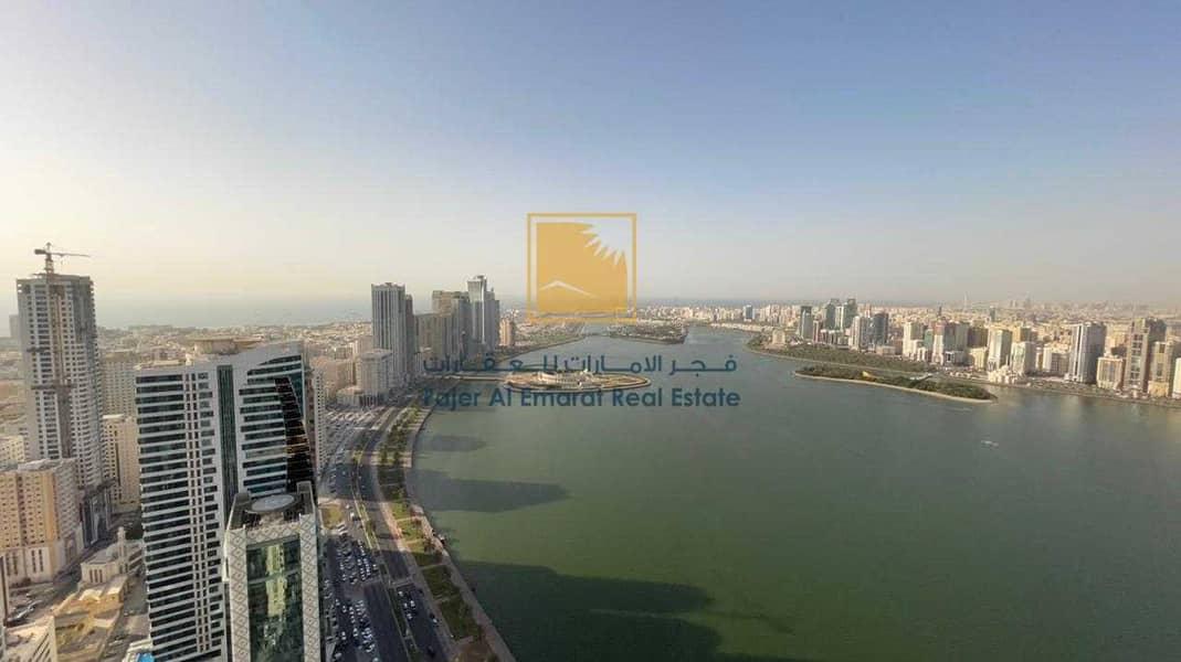 Spacious Duplex 4 BHK l Buhaira View l Bu Khamseen Tower