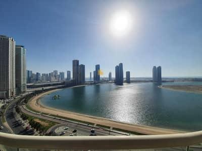 3 Bedroom Apartment for Sale in Al Khan, Sharjah - Spacious 3 BHK | AL MAMZER | ASAS TOWER |SEA VIEW
