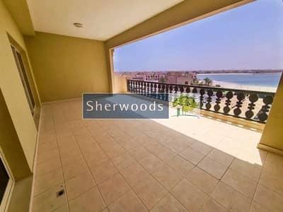 3 Bedroom Apartment for Rent in Al Hamra Village, Ras Al Khaimah - Stunning Marina and Beach Views - Huge Balcony