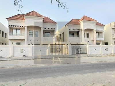 5 Bedroom Villa for Rent in Al Rawda, Ajman - BEAUTIFULL DESIGN MODREN STYLE BRAN NEW VILLA 5 MASTER SIZE BEDROOMS HALL IN RAWDA AJMAN AVAILBLE FOR RENT 130,000/- AED YEARLY