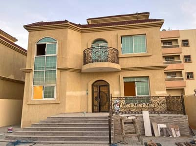 5 Bedroom Villa for Sale in Al Mowaihat, Ajman - Personal building villa for sale at an attractive price, a great location, close to all services, without down payment and bank financing, luxurious E