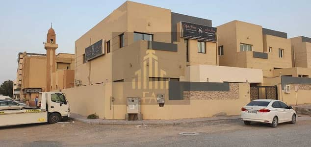 5 Bedroom Villa for Rent in Al Rawda, Ajman - GRAB THE DEAL VILLA 5 MASTER SIZE BEDROOMS HALL RESIDENTIAL AND COMMERCIAL BOTH USEAGE IN RAWDA 3  AJMAN AVAILBLE FOR RENT 83,000/- AED YEARLY