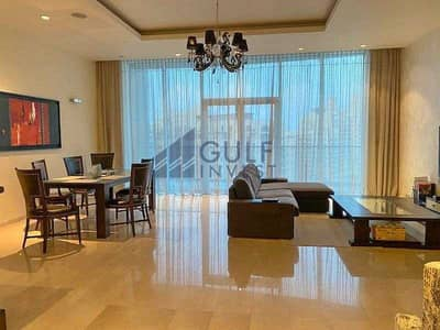 3 Bedroom Flat for Rent in Palm Jumeirah, Dubai - Fully Furnished / High Floor / Sea view