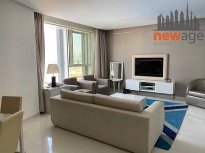 فلیٹ 1 غرفة نوم للايجار في الخليج التجاري، دبي - FULLY FURNISHED ONE BEDROOM CLOSE TO DUBAI MALL