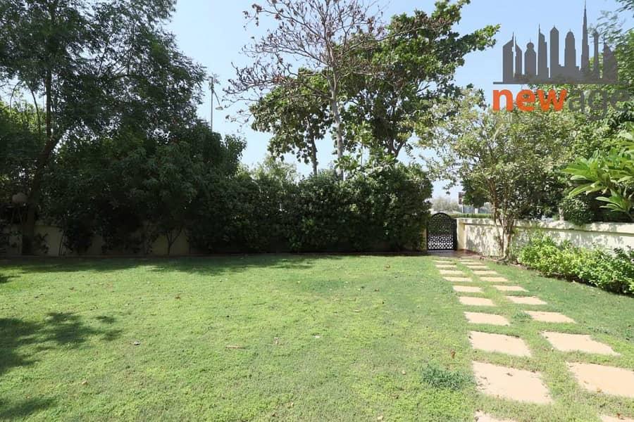 2 Golf Course View  3BR+Maids+  Huge Garden