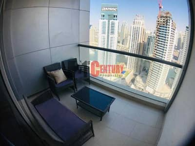 3 Bedroom Flat for Rent in Dubai Marina, Dubai - WELL MAINTAINED 3 BR PARTIAL MARINA AND SEA VIEW