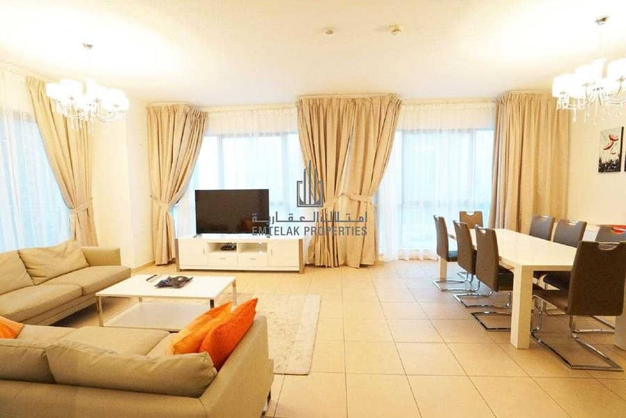 2 Fountain Views| Sea View | Fully Furnished