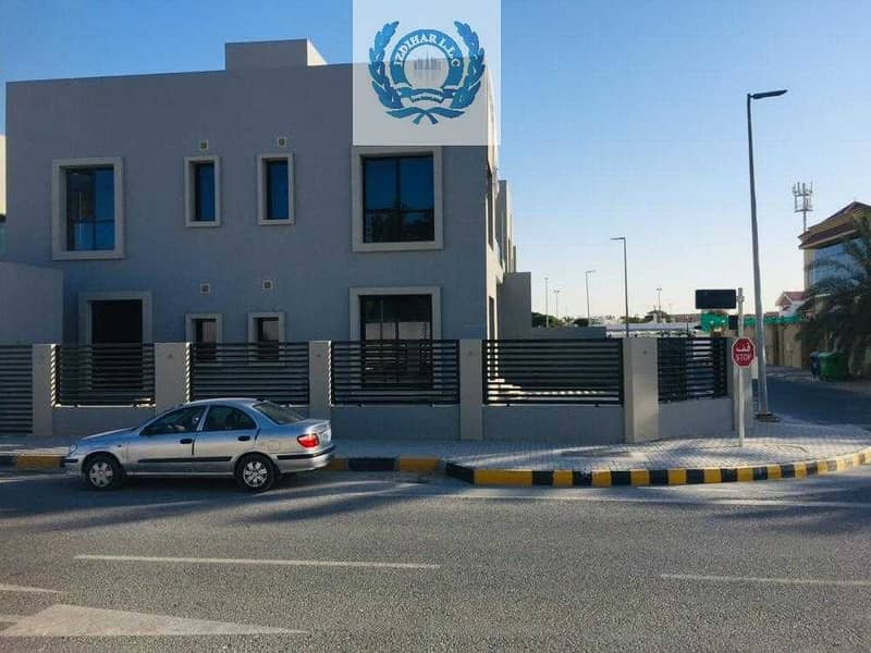 Brand New Four Bedroom, C/AC, Majlis With Excellent  Finishing.