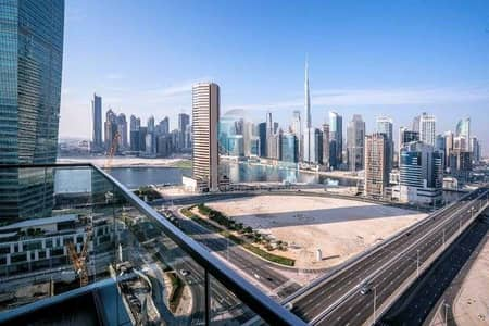 1 Bedroom Apartment for Rent in Business Bay, Dubai - 1 Bhk Stunning view in the Heart of Business Bay Burj View