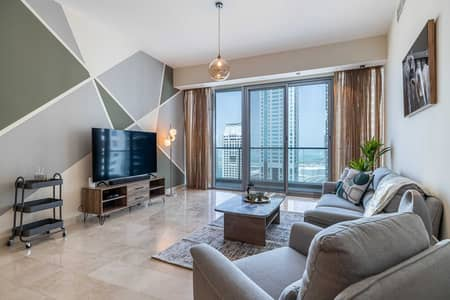 2 Bedroom Apartment for Rent in Dubai Marina, Dubai - Trendy 2 bed holiday home with Palm Jumeirah Views