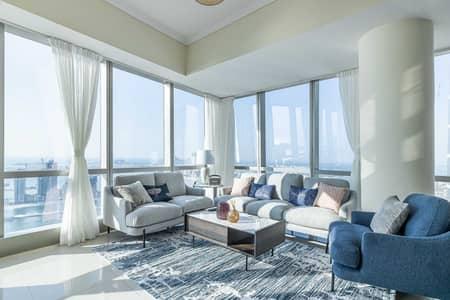 فلیٹ 3 غرف نوم للايجار في دبي مارينا، دبي - شقة في أوشن هايتس دبي مارينا 3 غرف 20500 درهم - 4819433