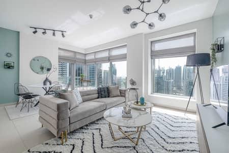 2 Bedroom Flat for Rent in Dubai Marina, Dubai - Super stylish 2 BR apartment with full Marina view