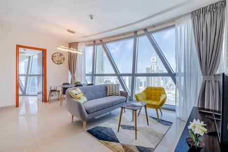 شقة 2 غرفة نوم للايجار في مركز دبي المالي العالمي، دبي - شقة في برج بارك تاور B بارك تاورز مركز دبي المالي العالمي 2 غرف 9500 درهم - 5044218