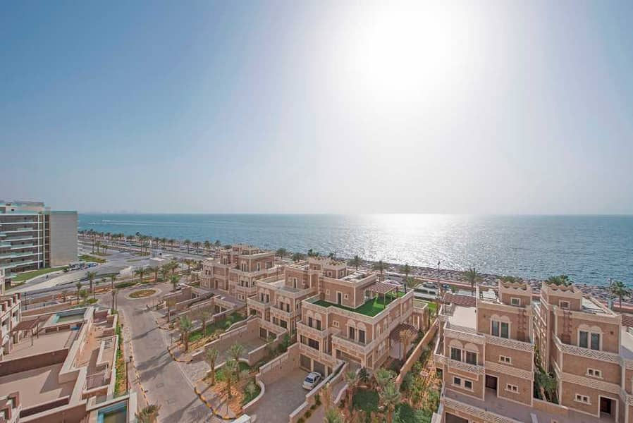 Astounding 3BR  with Maid and Full Sea View