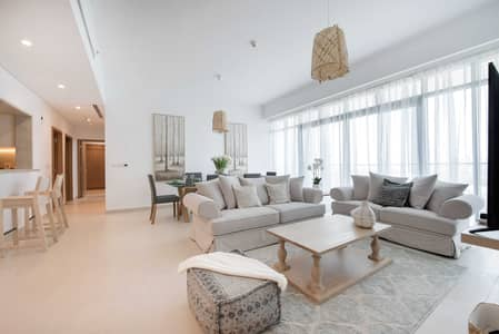 3 Bedroom Flat for Rent in The Hills, Dubai - Breathtaking Golf Course View 3BR Vida Residence 1