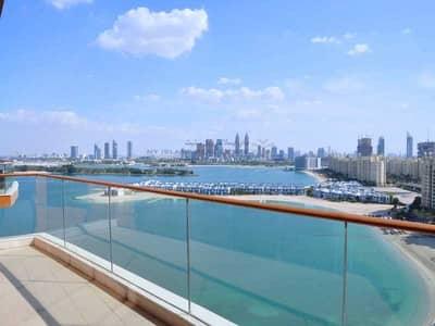 شقة 2 غرفة نوم للبيع في نخلة جميرا، دبي - High floor - Vacant in August - Spectacular view