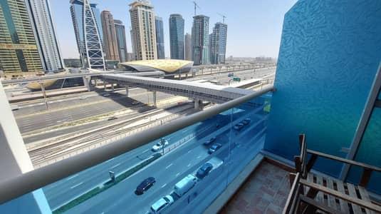 شقة 1 غرفة نوم للايجار في دبي مارينا، دبي - Chiller Free   Maintenance Free   Open View   Mid-High Floor   2 Terrace/Balcony