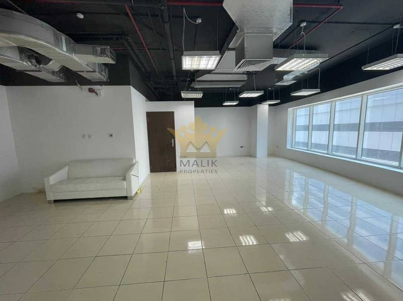 2 Fitted and Sami Furnished Office Mid Floor