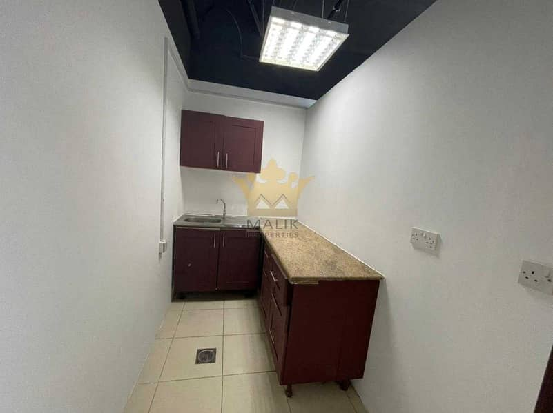 10 Fitted and Sami Furnished Office Mid Floor