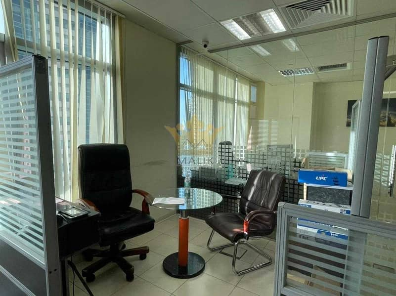 Bright Well Glass Partitioned Open View Vacant