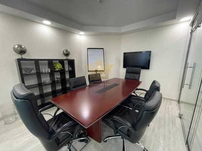 مکتب  للايجار في برشا هايتس (تيكوم)، دبي - 3 Glass  Partition + 1 Meeting Room  2 Parkings