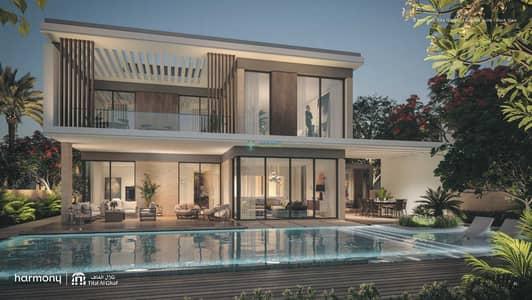 4 Bedroom Villa for Sale in Tilal Al Ghaf, Dubai - Beach Facing Limited Unit No Commission
