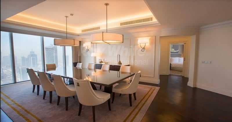 Luxury Furnished I Maid's Rm I Burj Khalifa  View